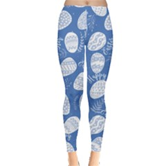 Blue Eggs  Leggings  by CoolDesigns