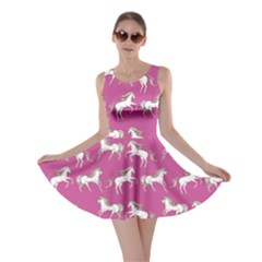 Magenta Unicorn Skater Dress by CoolDesigns