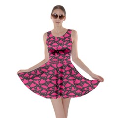 Ufo Hot Pink Skater Dress by CoolDesigns