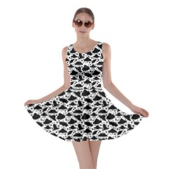 Ufo White Skater Dress by CoolDesigns
