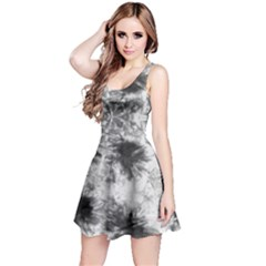 White Tie Dye Sleeveless Dress by CoolDesigns