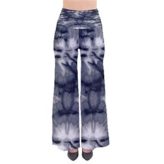 Navy Tie Dye Chic Palazzo Pants by CoolDesigns