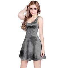 Black Tie Dye Sleeveless Dress