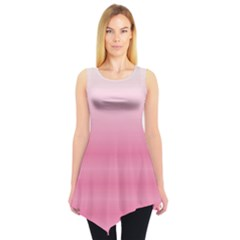 Pink Gradient Tie Dye Tunic Top by CoolDesigns