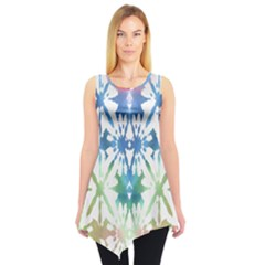 Colorful Tie Dye Tunic Top by CoolDesigns