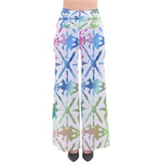 Colorful Tie Dye Palazzo Pants by CoolDesigns