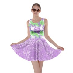 Violet Hawaii Skater Dress by CoolDesigns