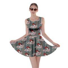Skull 8 Skater Dress by CoolDesigns