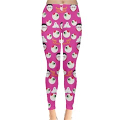 Hot Pink Eyeball Leggings