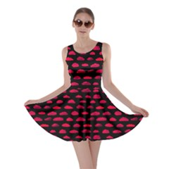 Red Clouds Skater Dress by CoolDesigns