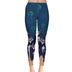 Monkey Question Leggings  by CoolDesigns