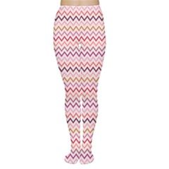 Purple Zig Zag Pattern Women s Tights by CoolDesigns