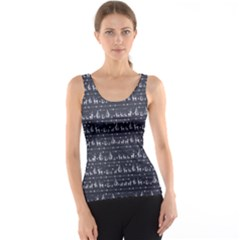 Blue Christmas Pattern Tank Top by CoolDesigns