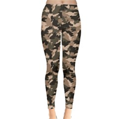 Dark Camouflage Pattern Leggings by CoolDesigns