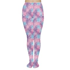 Purple Violet Abstract With Sparks Floral Tights by CoolDesigns