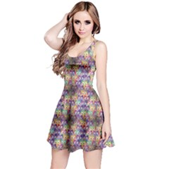 Purple Owls Pattern Sleeveless Dress by CoolDesigns