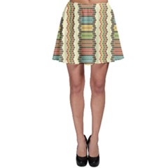Colorful Ethnic African Beads Color Pattern Skater Dress by CoolDesigns