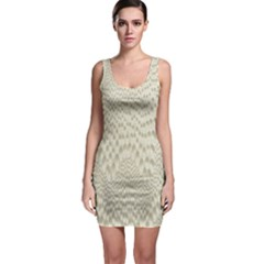 Coral X Ray Rendering Hinges Structure Kinematics Sleeveless Bodycon Dress