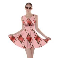 Variant Red Line Skater Dress by Alisyart