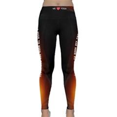 I Do Yoga To Burn Off The Crazy Classic Yoga Leggings
