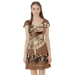 Bon Ton Short Sleeve Skater Dress