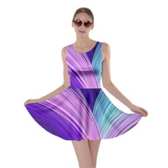 Color Purple Blue Pink Skater Dress by Mariart