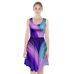 Color Purple Blue Pink Racerback Midi Dress by Mariart