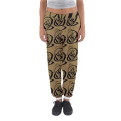 Art Abstract Artistic Seamless Background Women s Jogger Sweatpants