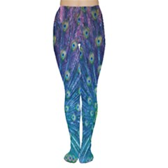 Amazing Peacock Women s Tights by Simbadda