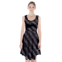 Str3 Bk Mrbl Bk Wclr (r) Racerback Midi Dress by trendistuff