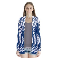 Coral Life Sea Water Blue Fish Star Cardigans by Mariart