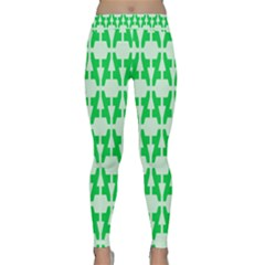 Sign Green A Classic Yoga Leggings by Mariart