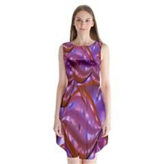 Passion Candy Sensual Abstract Sleeveless Chiffon Dress   by Simbadda