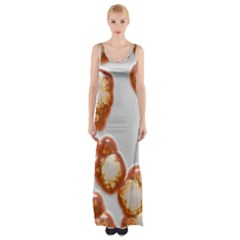 Abstract Texture A Completely Seamless Tile Able Background Design Maxi Thigh Split Dress