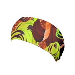 Neutral Abstract Picture Sweet Shit Confectioner Yoga Headband