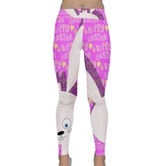 Easter Bunny  Classic Yoga Leggings by Valentinaart