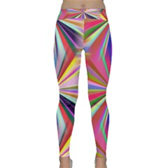 Star A Completely Seamless Tile Able Design Classic Yoga Leggings by Nexatart