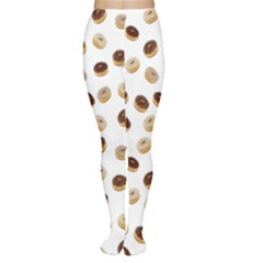 Donuts Pattern Women s Tights by Valentinaart