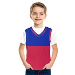 Civil Flag Of Haiti (without Coat Of Arms) Kids  Sportswear