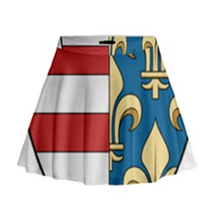 Angevins Dynasty Of Hungary Coat Of Arms Mini Flare Skirt by abbeyz71