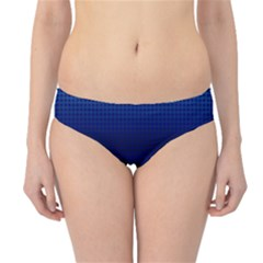 Blue Dot Hipster Bikini Bottoms by PhotoNOLA