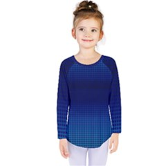 Blue Dot Kids  Long Sleeve Tee by PhotoNOLA