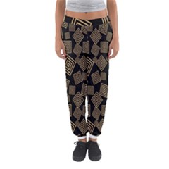 Magic Sleight Plaid Women s Jogger Sweatpants by Mariart