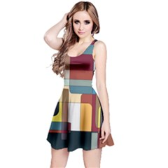 Patchwork Reversible Sleeveless Dress by digitaldivadesigns
