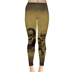 Skull Leggings  by ChrisChris