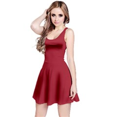 Fleet Red Sleeveless Dress by NoctemClothing