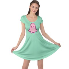 Squid Princess Cap Sleeve Dress by NoctemClothing