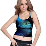 Collection: Metamorpha<br>Print Design:  Morpho s Desires <br>Style: Supportive Bra Top