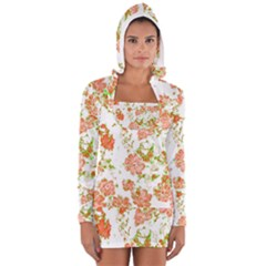 Floral Dreams 12 D Women s Long Sleeve Hooded T Shirt by MoreColorsinLife