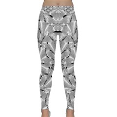 Modern Oriental Ornate Classic Yoga Leggings by dflcprintsclothing